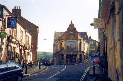 Photograph. Millgate, Delph. Home of Delph Library.